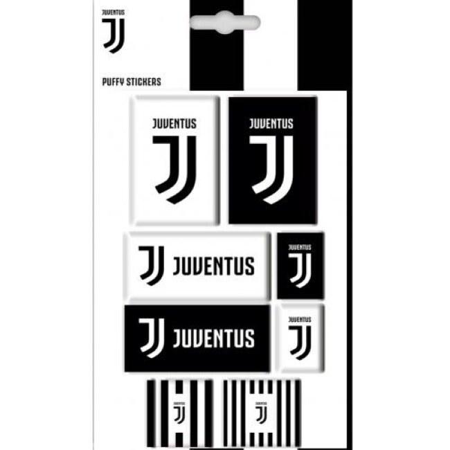 Sada Bubble samolepek Juventus FC