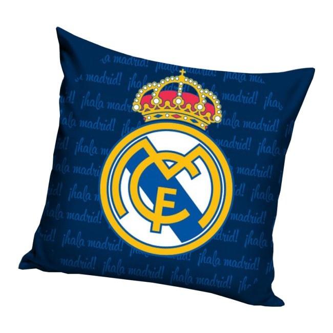 Polštářek Real Madrid Blue Letters