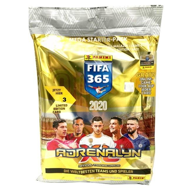 Mega Starter Pack fotbalových kartiček Panini Adrenalyn XL Fifa 365 - 2020