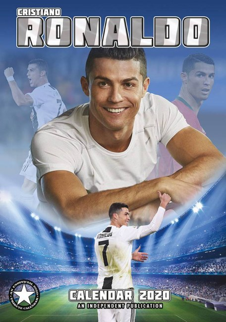 Nástěnný kalendář Cristiano Ronaldo 2020