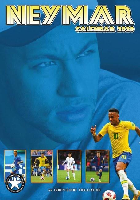 Nástěnný kalendář Neymar 2020