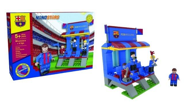 FC Barcelona lego tribuna