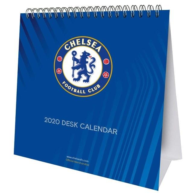 FC Chelsea stolní kalendář
