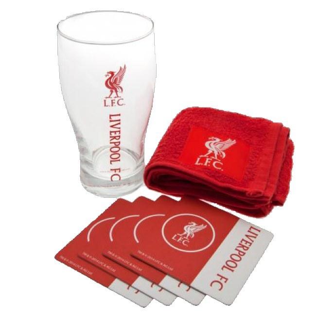 Barový set Liverpool FC