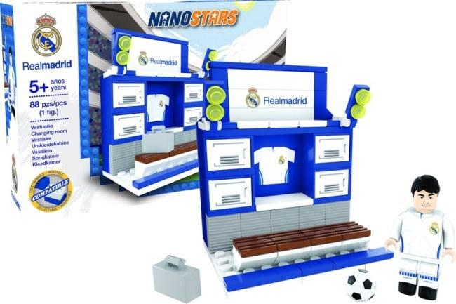 Lego Nanostars Real Madrid - šatna