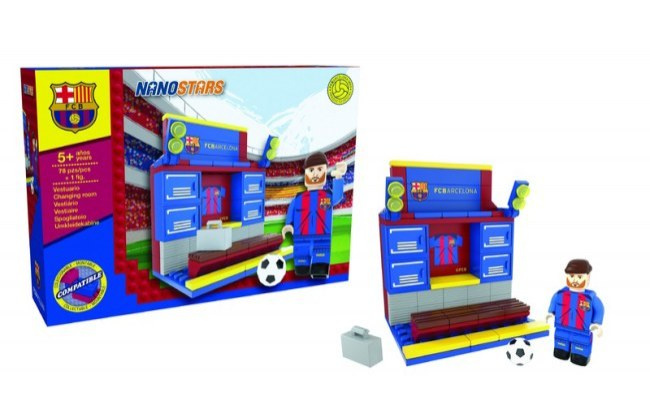 Lego Nanostars FC Barcelona - šatna