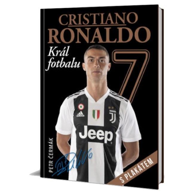Kniha Cristiano Ronaldo - Král fotbalu s plakátem