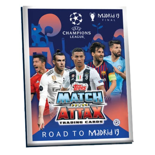 Album Topps Match Attax Champions League Road To Madrid 2019 - Vánoce Kartičky