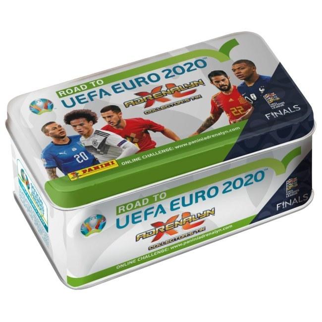Velká dárková krabička Panini Adrenalyn XL Road to Euro 2020