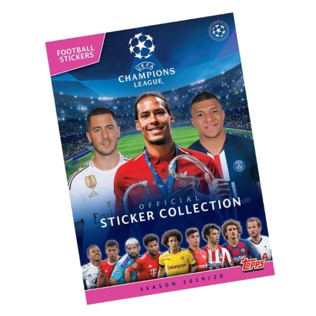 Album na fotbalové samolepky Topps Champions League 2019/20