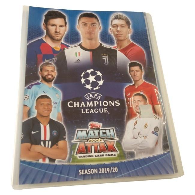 Album na fotbalové kartičky Topps Match Attax Champions League 2019/20