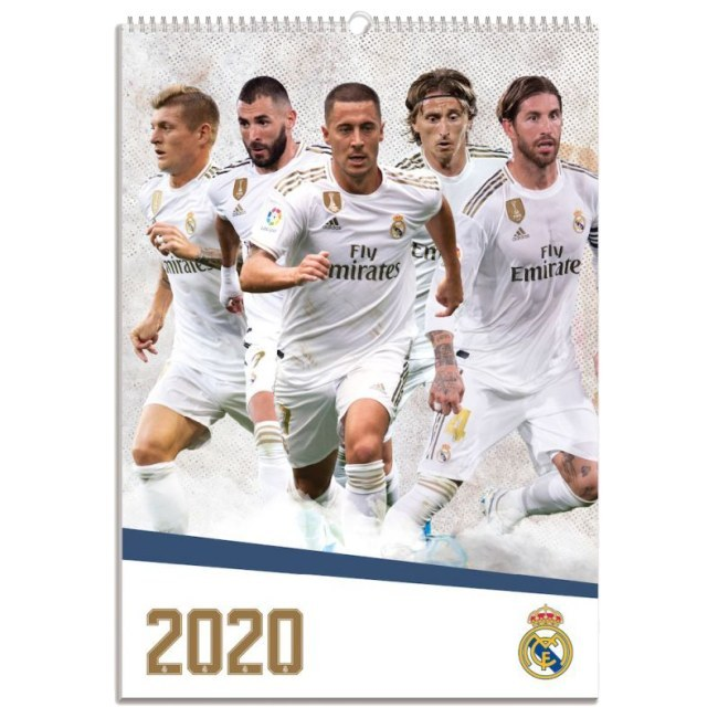 Nástěnný kalendář Real Madrid 2020