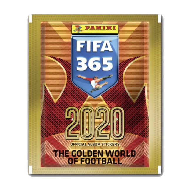 Balíček fotbalovýchsamolepekPanini FIFA 365 - 2020