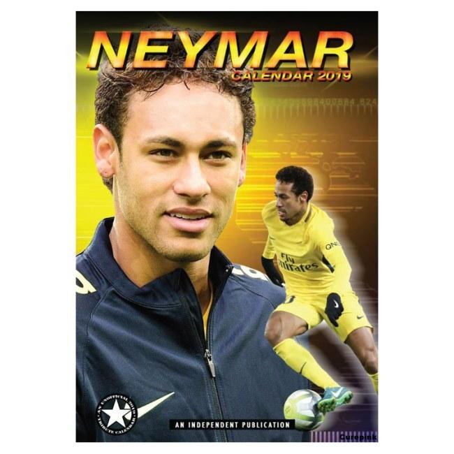 Nástěnný kalendář Neymar 2019