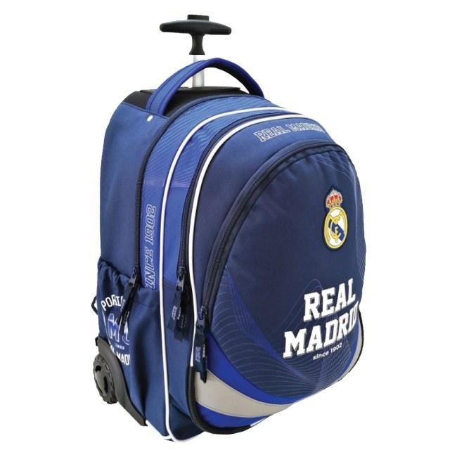 Školní batoh na kolečkách Real Madrid