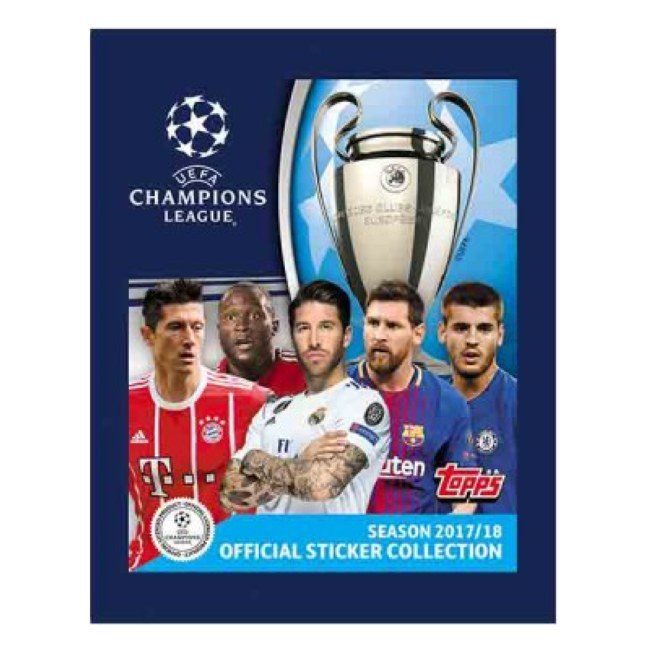 Topps Champions League samolepky 17/18